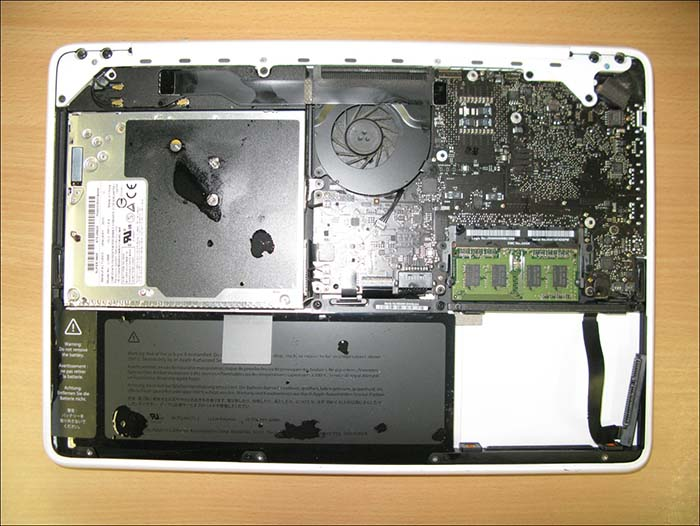 how to clean a macbook pro keyboard after a spill