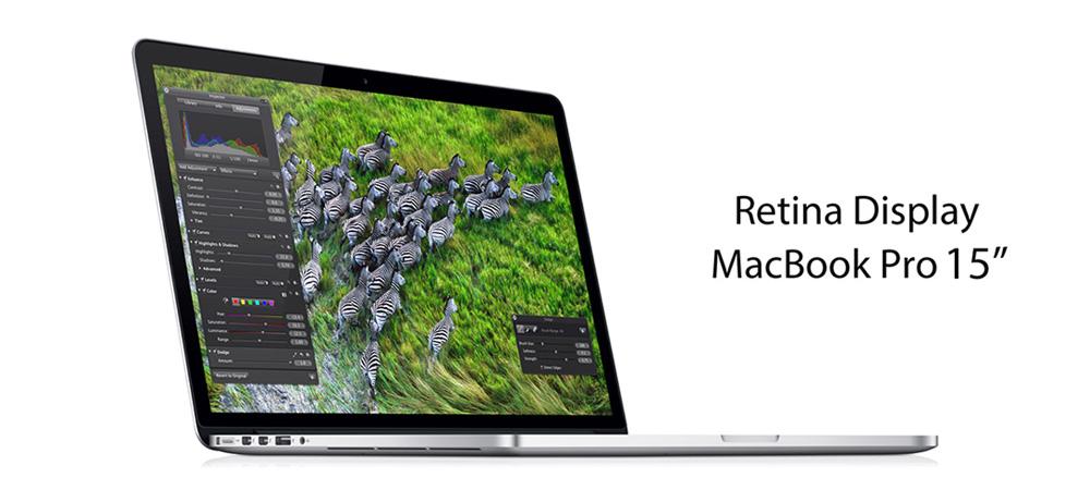 MacBook Pro 15″ with Retina Display