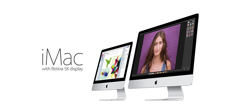 New iMac with Retina 5K Display
